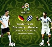 Германия Греция на ЕВРО 2012