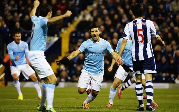 «Манчестер Сити» обеспечивает себе место взоне ЛЧ, обыграв дома «Вест Бромвич»