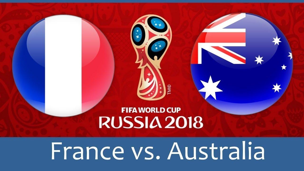 Франция - Австралия, 16.06.2018