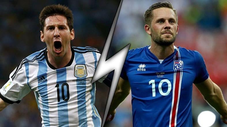 Аргентина - Исландия, 16.06.2018