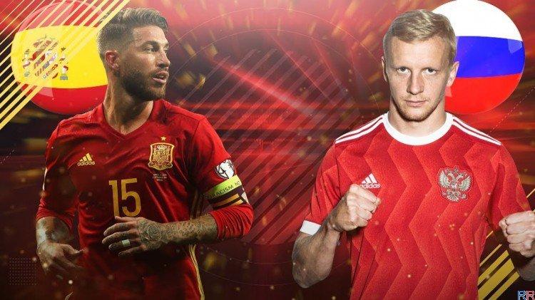 Испания - Россия, 01.07.2018