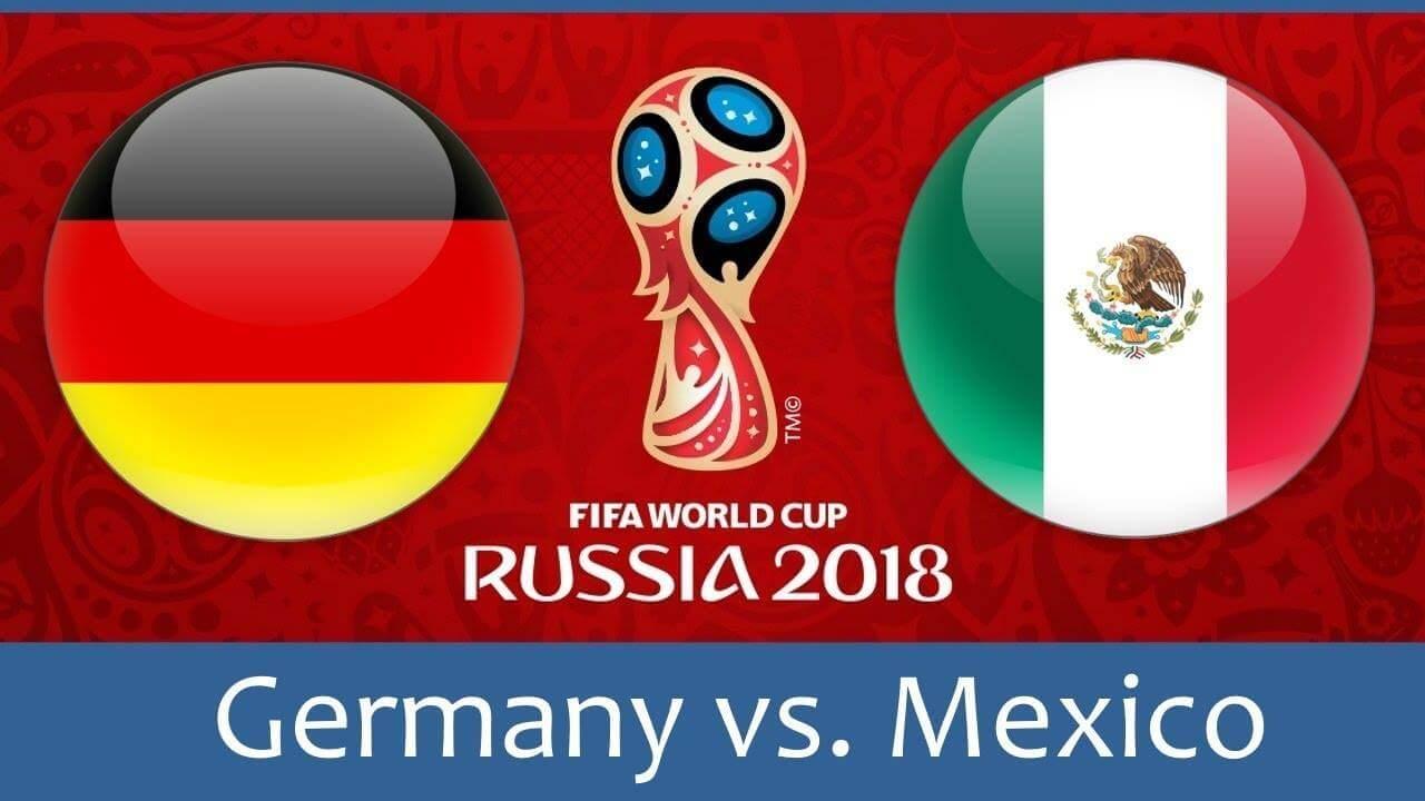 Германия - Мексика, 17.06.2018