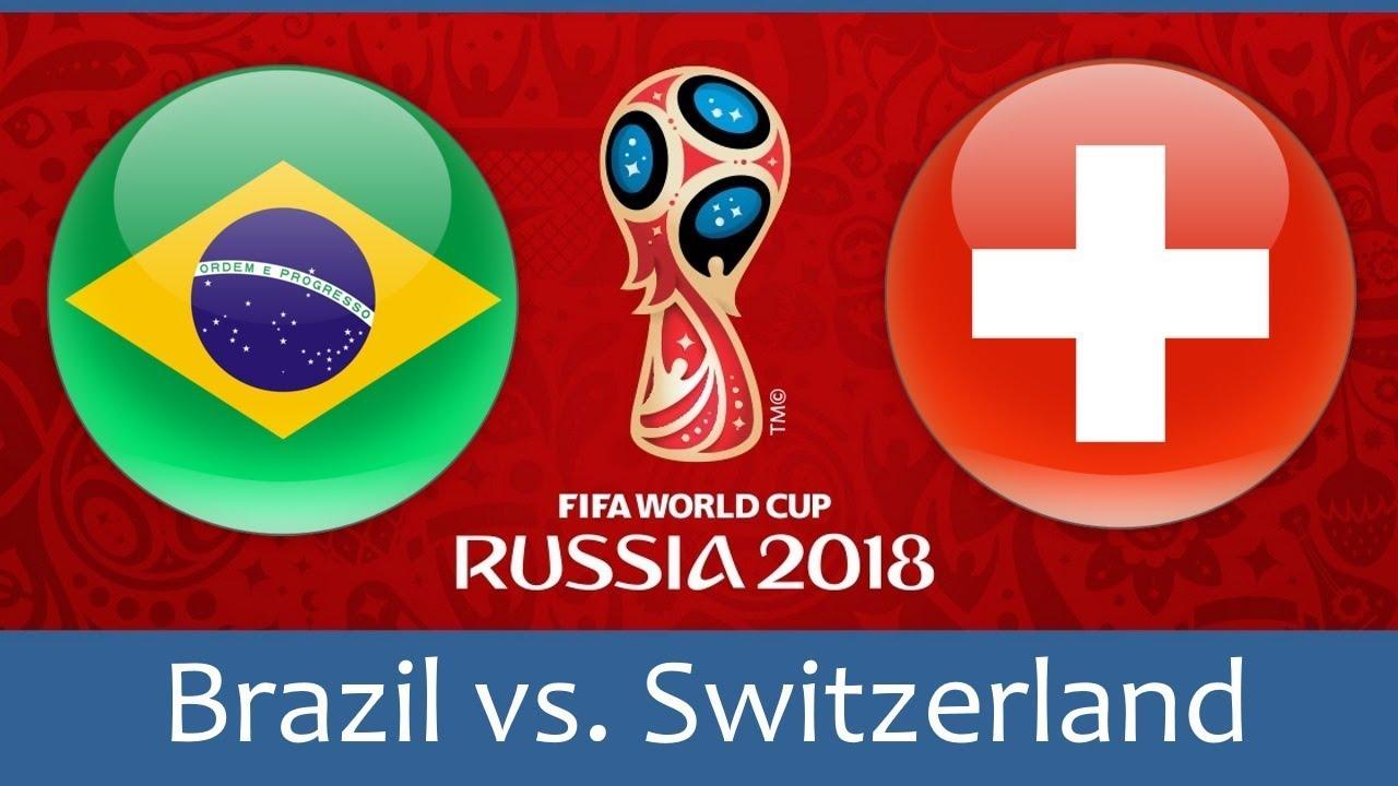 Бразилия - Швейцария, 17.06.2018