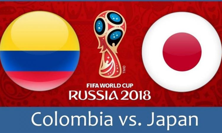 Колумбия - Япония, 19.06.2018