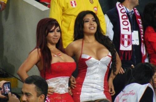 Ах да, еще у сборной Перу самые классные болельщицы на турнире.