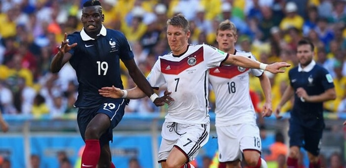 прогноз на матч Франция - Германия