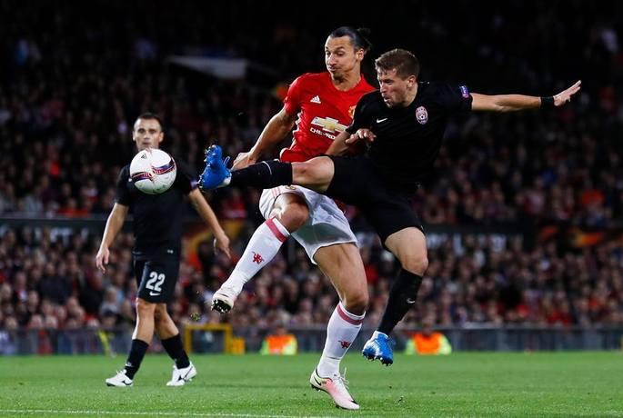 Заря - Манчестер Юнайтед, 08.12.2016