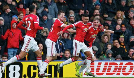 Манчестер Юнайтед - Уотфорд, 11.02.2017