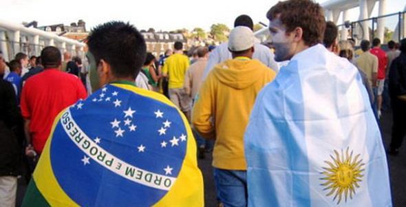 Бразилия - Аргентина, 09.06.2017