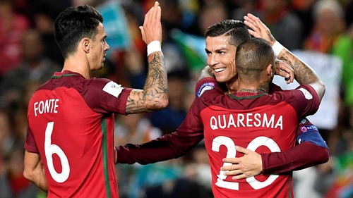Латвия - Португалия, 09.06.2017