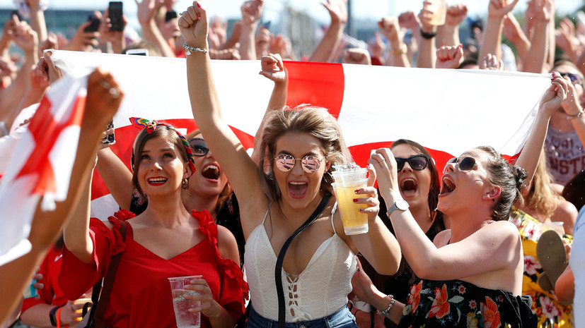 Хорватия - Англия, 11.07.2018