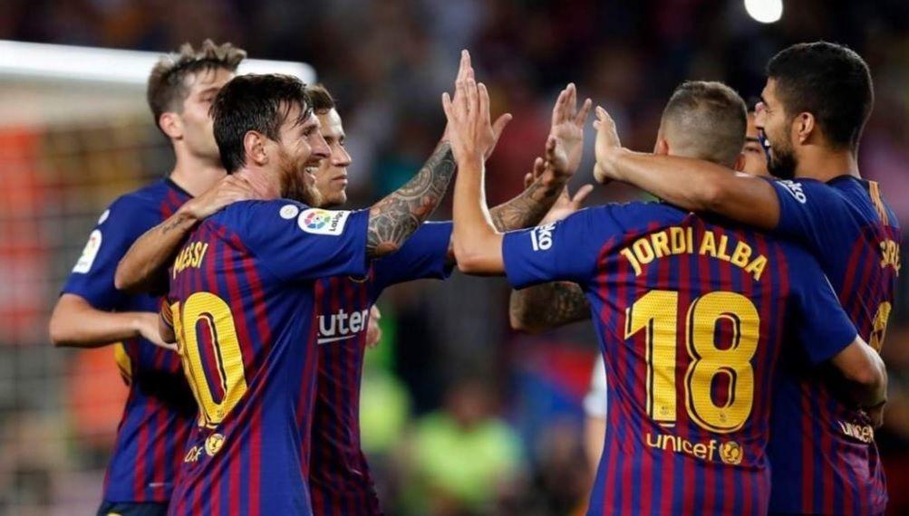 МЮ - Барселона, 10.04.2019